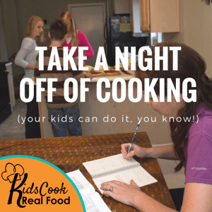 Take a night off of cooking