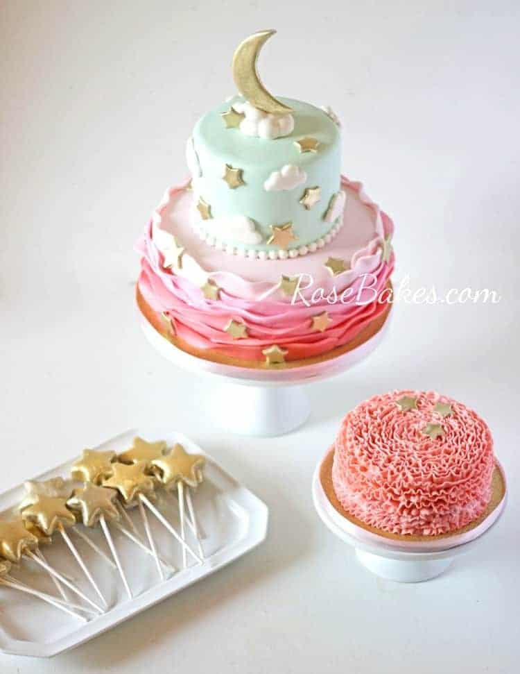 Twinkle Twinkles Little Star Party Cake