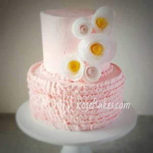 Whimsical Buttercream Cake