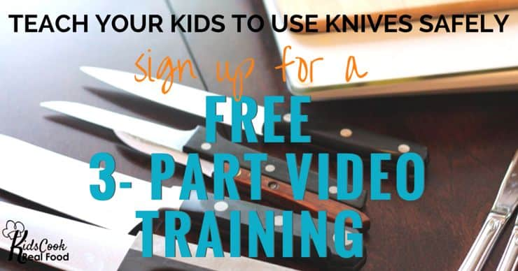 Click HERE for the FREE Knife Skills 3 Part Video Training
