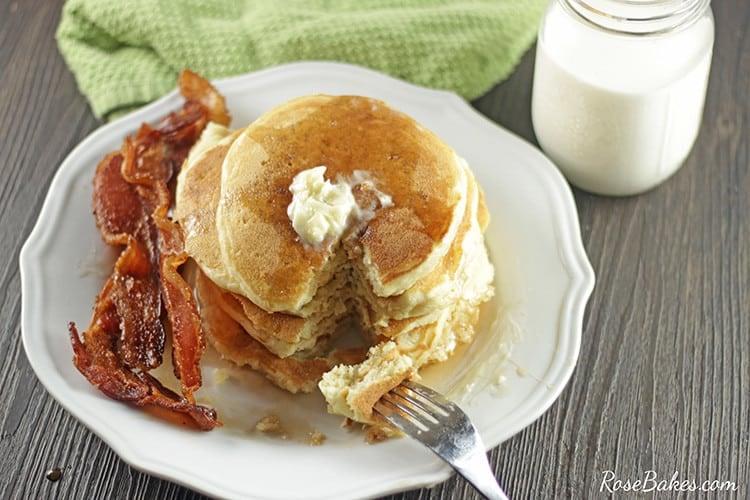 Buttermilk Pancakes Mix Recipe
