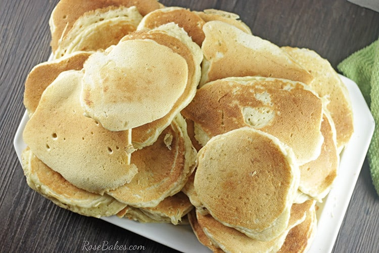 Pancakes for a Big Family