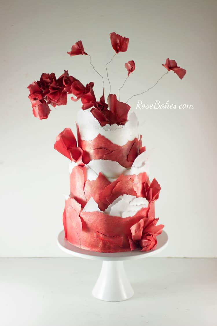 Red Dress Cake 10 SMALL WM