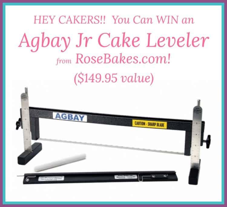 Win an Agbay Jr From RoseBakes