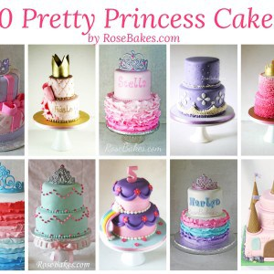 10 Pretty Princess Cakes