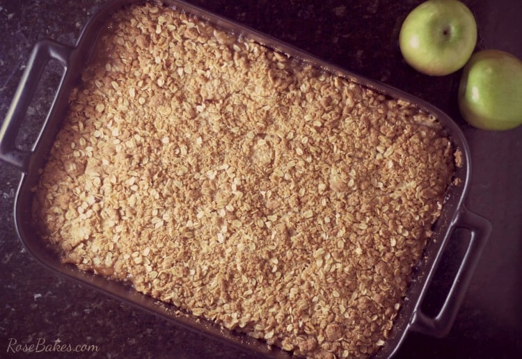 apple crisp for a crowd rose bakes