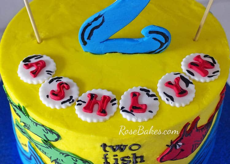 Magnificent Happy Birthday Dr Seuss Dr Seuss Cakes Rose Bakes Funny Birthday Cards Online Aboleapandamsfinfo