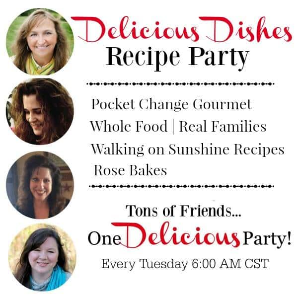 Delicious Dishes Linky Party Photo