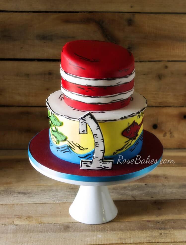 Swell Happy Birthday Dr Seuss Dr Seuss Cakes Rose Bakes Funny Birthday Cards Online Alyptdamsfinfo