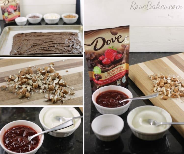 Making Dark Chocolate Bark