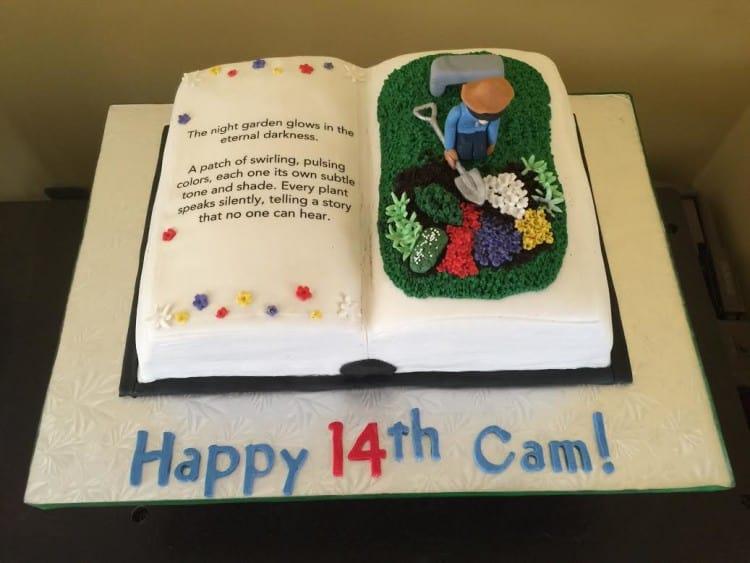 Melissa Book Cake