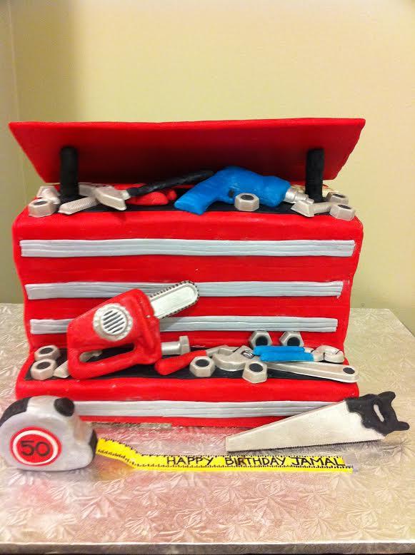 Melissa Tool Box Cake