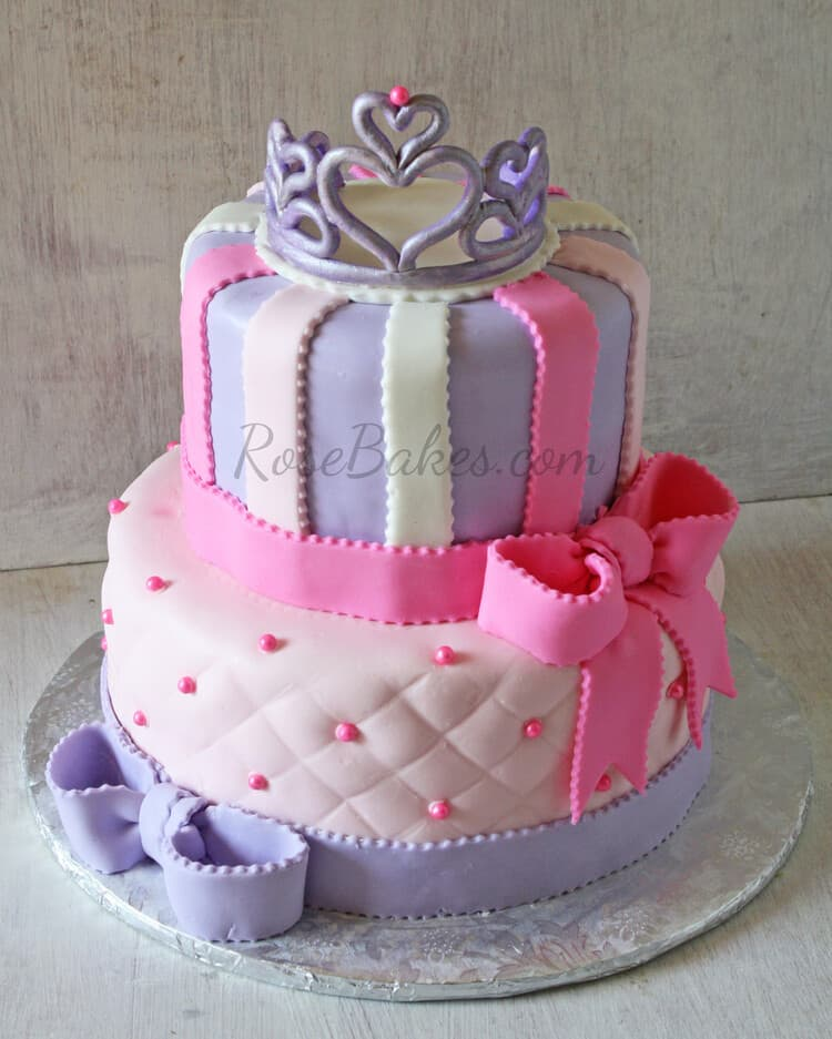 Princess Cake Design : 10 Pretty Princess Cakes - Rose Bakes