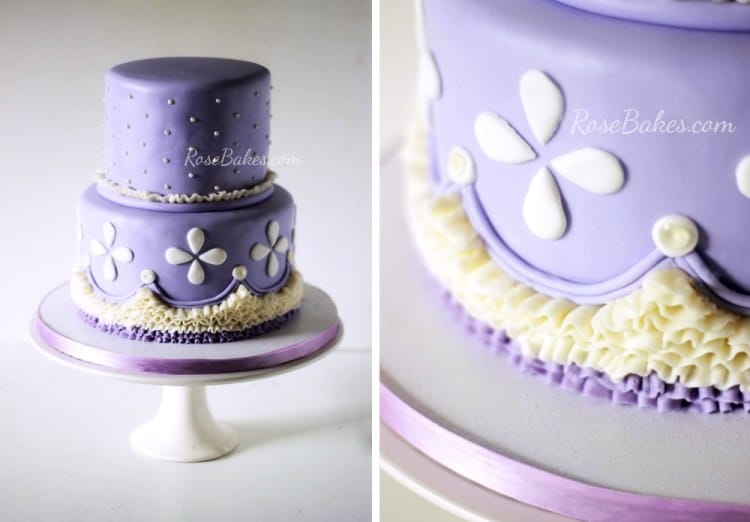 10 Pretty Princess Cakes Rose Bakes