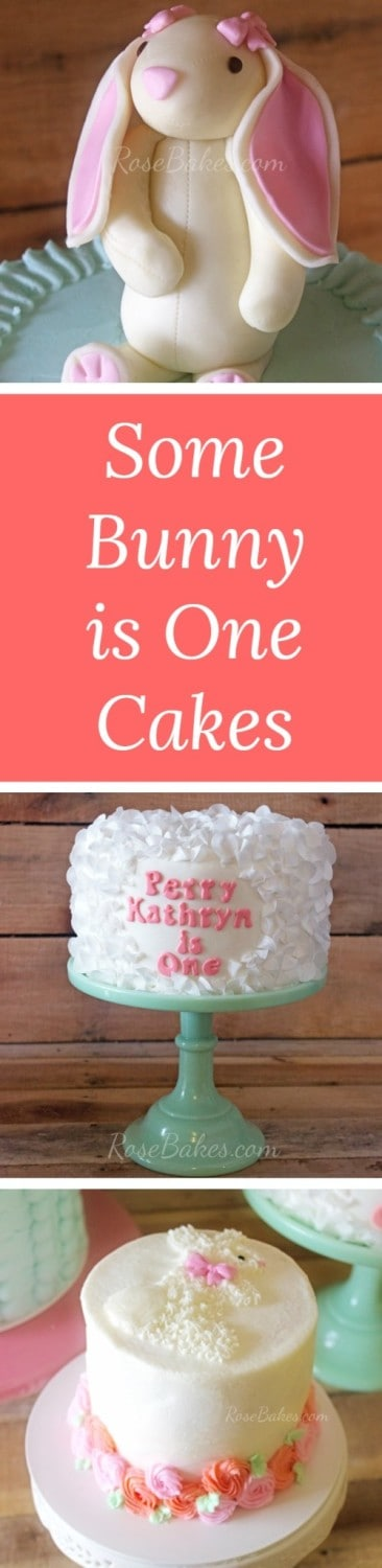 Some Bunny is One Cakes by RoseBakes.com
