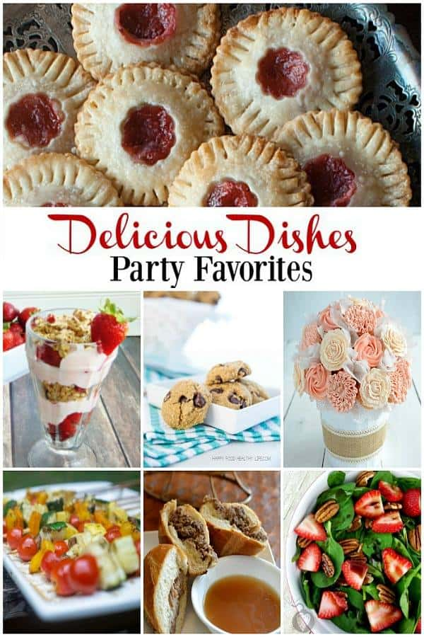 Delicious Dishes Party Collage2