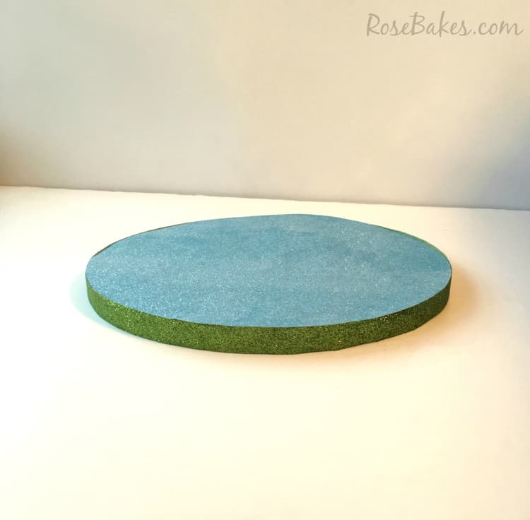 Glitter Cake Board