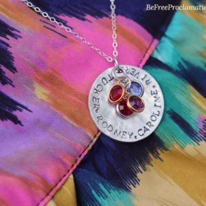 Surrounded by Love Personalized Necklace