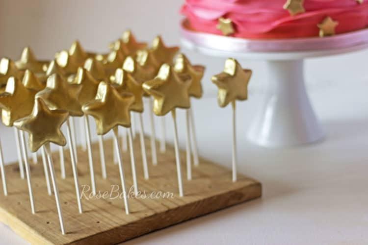 How Do You Make Cake Pops Shiny