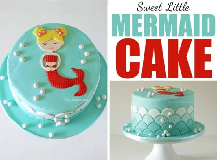 Mermaid Cake by RoseBakes