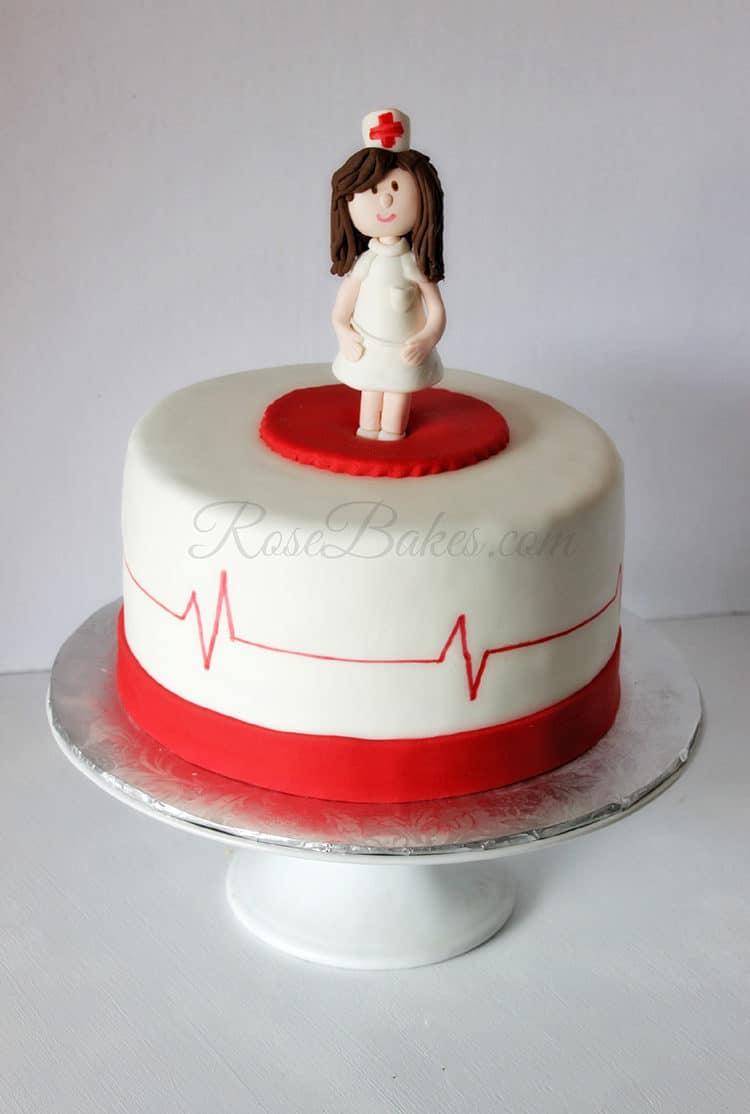 Nursing School Graduation Cakes - Rose Bakes