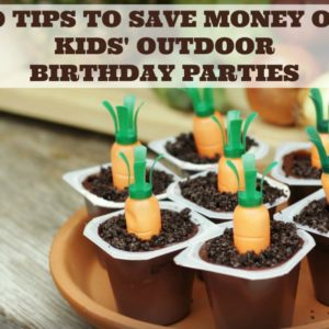 10 Tips to Save Money on Kids' Outdoor Birthday Parties by RoseBakes