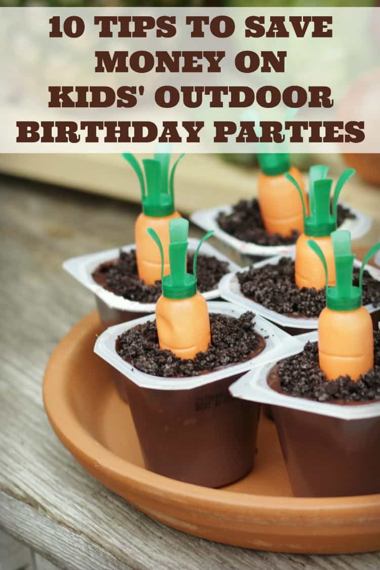 10 Ways to Save on Kids Parties by Rose Bakes