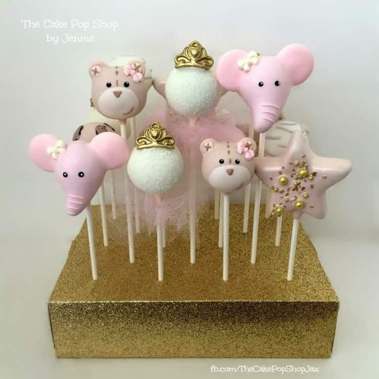 Baby Gone Wild Cake Pops by The Cake Pop Shop