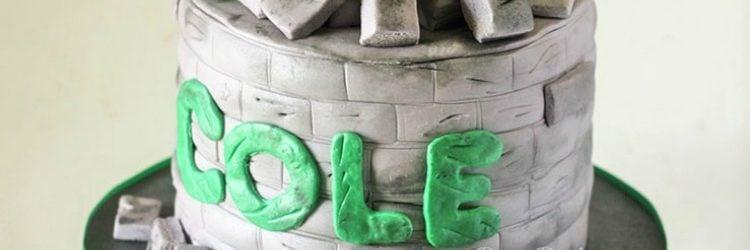 Hulk Fist Cake by RoseBakes