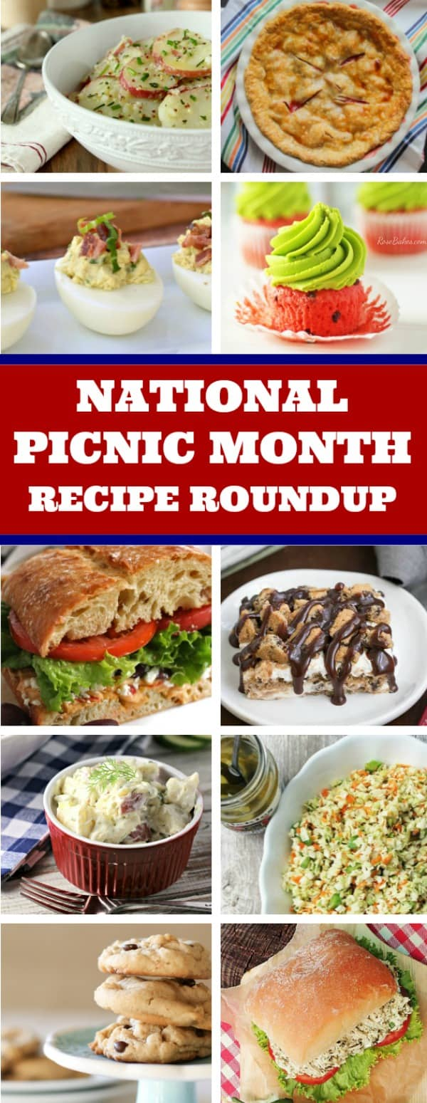 Let's Celebrate National Picnic Month with a Recipe Roundup!