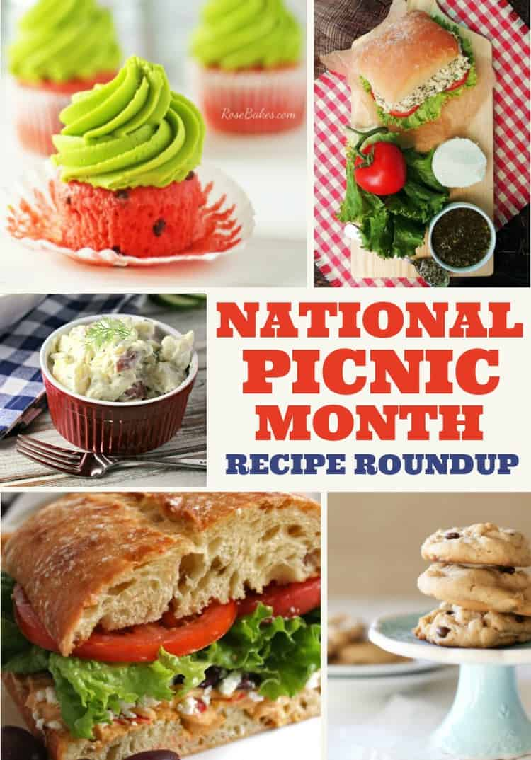 National Picnic Month Recipe Roundup