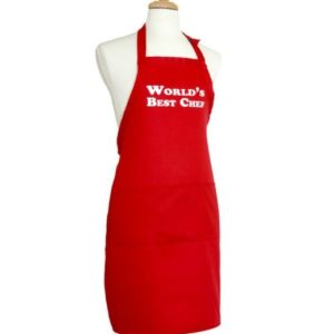 Worlds Best Chef Apron only $9 with Free Shipping!