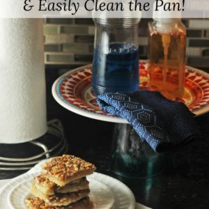 How to Make Pecan Pie Bars & Easily Clean the Pan