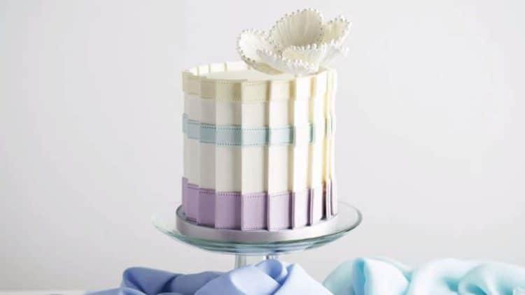 Paneled Cake