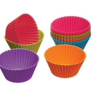 Set of 12 Silicone Cupcake Liners for $2.74 shipped!