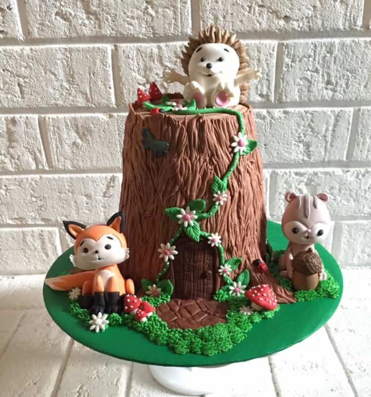 All Bent Out of Cake Woodland Friends