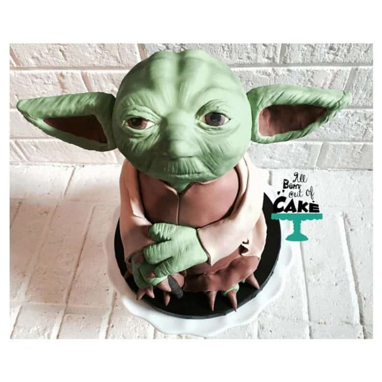 All Bent Out of Cake Yoda