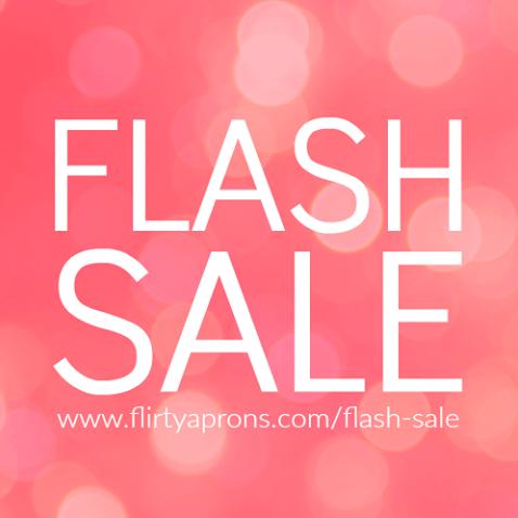 Flirty Aprons Flash Sale