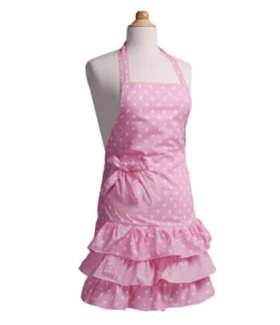 Girls Strawberry Apron