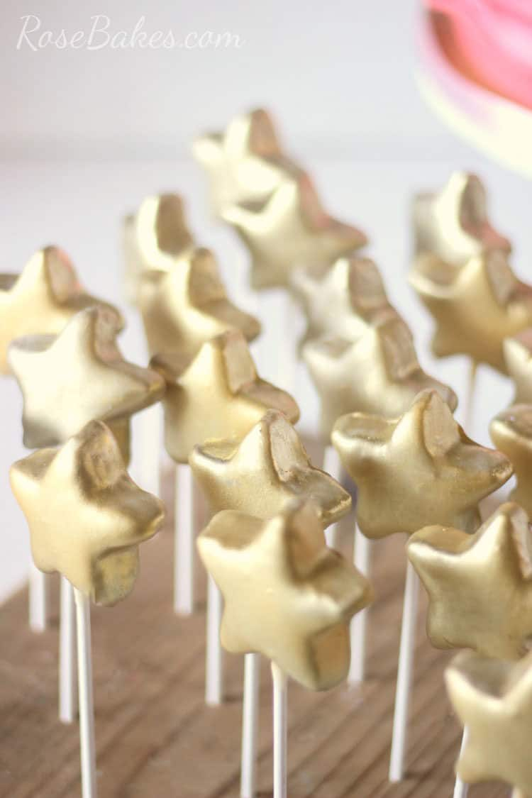 How To Make Star Shaped Cake Pops