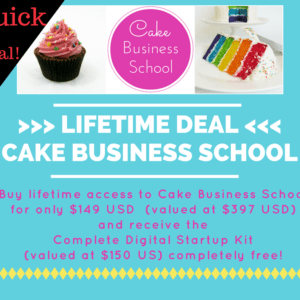 Lifetime Deal - Cake Business School
