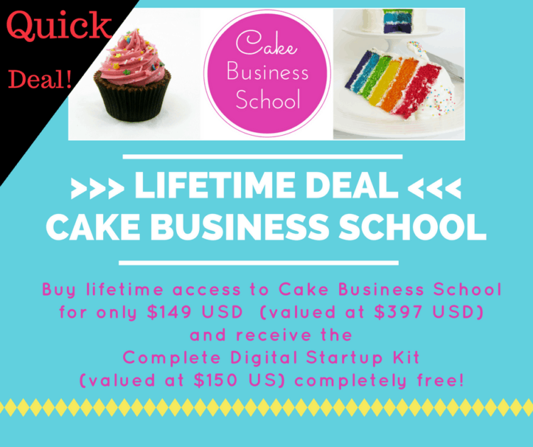 Lifetime Deal - Cake Business School