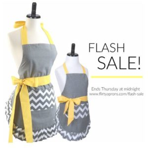 Mother-Daughter Apron Bundle Flash Sale