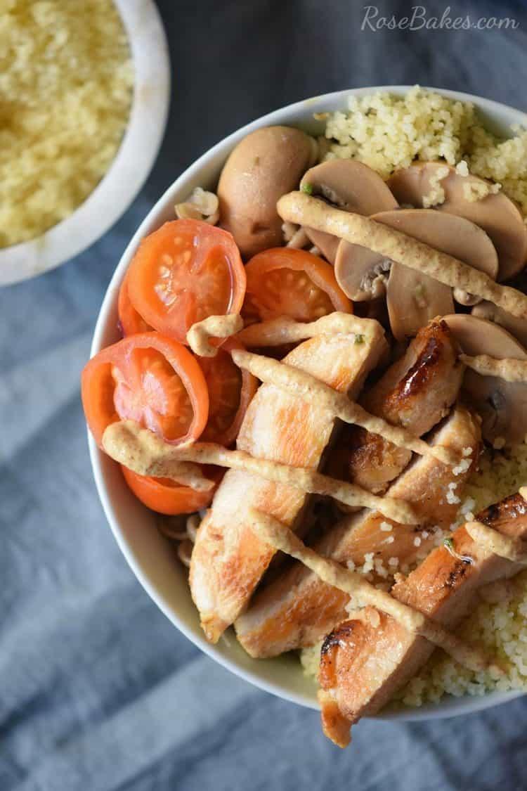 Mustard Chicken Bowl with Quinoa