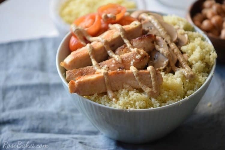 Mustard Chicken Bowl with Quinoa - Gluten Free