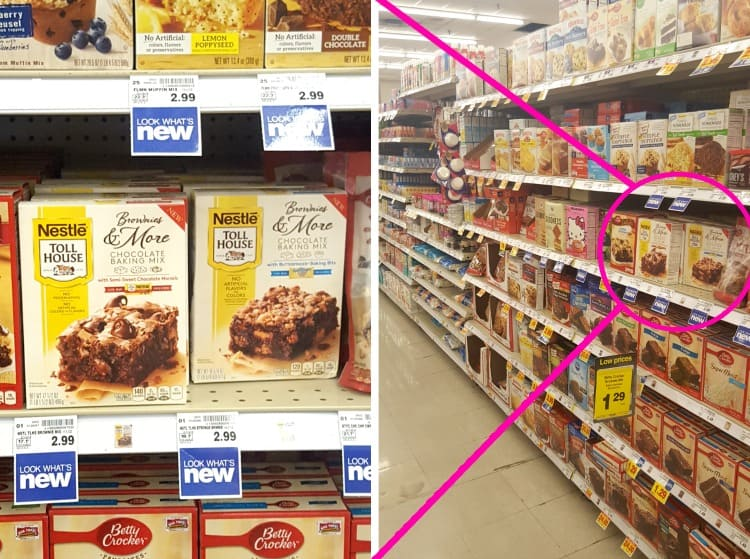 Nestle Toll House Brownies & More at Kroger