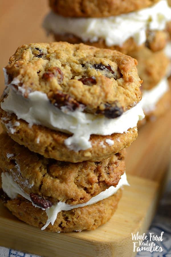 Oatmeal Sandwich Cookies 600x900