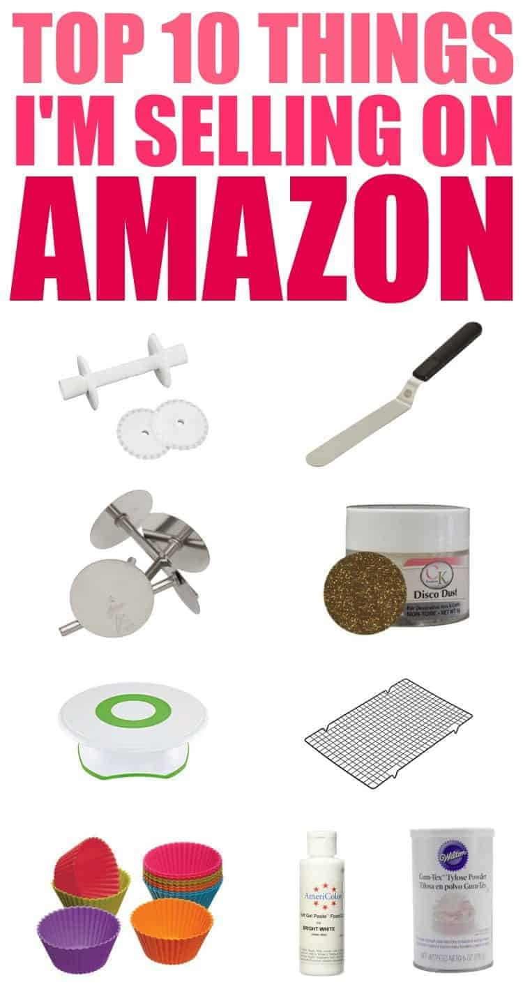 Top 10 Things I'm Selling on Amazon