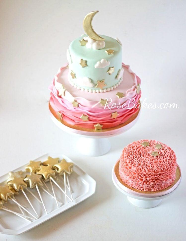 Twinkle Twinkles Little Star Party Cake-1