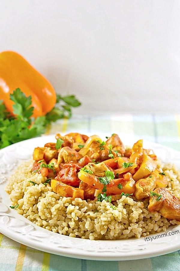 Chicken Paprikash for National Chicken Month